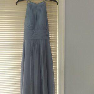 Azazie Bonnie Dress Dusty Blue Size A4